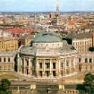 BURGTHEATER VIENNA - THE BURG THEATER - VIENNA SWITZERLAND COLOR PICTURE POSTCARD #321 UNUSED