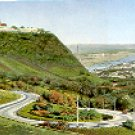 WIEN HOHENSTRABE - KAHLENBERG - VIENNA SWITZERLAND COLOR PICTURE POSTCARD #322 UNUSED