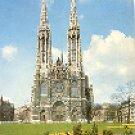 WIEN - VOTIVKIRCHE VIENNA - THE VOTIV CHURCH - VIENNA SWITZERLAND COLOR PICTURE POSTCARD #324 UNUSED