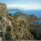 PANORAMIC CORNER ANACAPRI CAPRI ITALY COLOR PICTURE POSTCARD #335 UNUSED