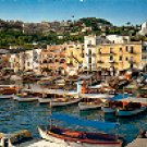 MARINA GRANDE CAPRI ITALY COLOR PICTURE POSTCARD #336 UNUSED