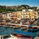 MARINA GRANDE CAPRI ITALY COLOR PICTURE POSTCARD #336 UNUSED
