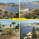 NICE - COTE d' AZUR - SOUVENIR DE NICE FRANCE COLOR PICTURE POSTCARD #344 UNUSED