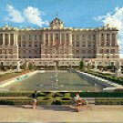 ROYAL PALACE NORTHERN FACADE  MADRID SPAIN COLOR PICTURE POSTCARD #350 UNUSED
