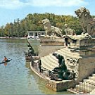 RETIRO PARK MONUMENT TO ALPHONSO XII FRAGMENT  MADRID SPAIN COLOR PICTURE POSTCARD #351 UNUSED