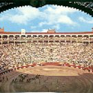 PLAZA DE TOROS MONUMENTAL BULL FIGHTING RING MADRID SPAIN COLOR PICTURE POSTCARD #352 UNUSED