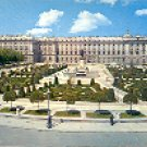 ORIENT SQUARE ROYAL PALACE MADRID SPAIN COLOR PICTURE POSTCARD #353 UNUSED