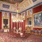 ROYAL PALACE EVERYDAY DINING ROOM MADRID SPAIN COLOR PICTURE POSTCARD #358 UNUSED