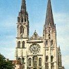 CHARTRES (EURE-et-LOIR) FRANCE COLOR PICTURE POSTCARD #374 UNUSED