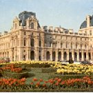 THE LOUVRE PARIS FRANCE COLOR PICTURE POSTCARD #377 UNUSED