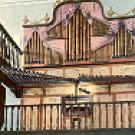 THE BAMBOO ORGAN PHILIPPINES COLOR PICTURE POSTCARD #398 UNUSED
