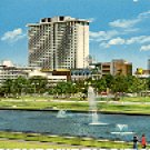 LAGOON AT RIZAL PARK MANILA PHILIPPINES COLOR PICTURE POSTCARD #401 UNUSED