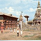 DURBAR SQUARE BHADGAON KATHMANDU NEPAL COLOR PICTURE POSTCARD #407 UNUSED