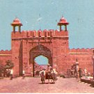 JAIPUR PICTURESQUE CITY GATE INDIA COLOR PICTURE POSTCARD #421 UNUSED