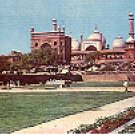 JAMA MASJID MOSQUE DELHI INDIA COLOR PICTURE POSTCARD #424 UNUSED