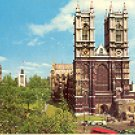 WESTMINSTER ABBEY LONDON ENGLAND COLOR PICTURE POSTCARD #433 UNUSED