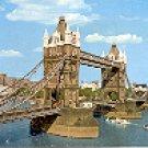 TOWER BRIDGE LONDON ENGLAND COLOR PICTURE POSTCARD #434 UNUSED