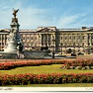 BUCKINGHAM PALACE LONDON ENGLAND COLOR PICTURE POSTCARD #437 UNUSED