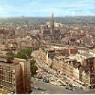 AERIAL VIEW OF CITY & TOWN HALL BRUSSELS BELGIUM COLOR PICTURE POSTCARD #444 UNUSED