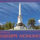 MISSISSIPPI  MEMORIAL VICKSBURG NATIONAL MILITARY PARK COLOR PICTURE POSTCARD #476 UNUSED