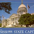 STATE CAPITOL JACKSON MISSISSIPPI COLOR PICTURE POSTCARD #478 UNUSED