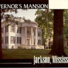GOVERNOR&#39;S MANSION JACKSON MISSISSIPPI COLOR PICTURE POSTCARD #480 UNUSED