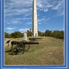 NAVAL MEMORIAL VICKSBURG NATIONAL MILITARY PARK MISS. COLOR PICTURE POSTCARD #482 UNUSED