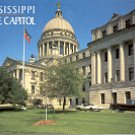 CLOSE UP STATE CAPITOL JACKSON MISSISSIPPI COLOR PICTURE POSTCARD #483 UNUSED