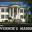 FRONT OF GOVERNOR'S MANSION JACKSON MISSISSIPPI COLOR PICTURE POSTCARD #487 UNUSED