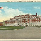 NORTH UNIT YOUNGSTOWN HOSPITAL & NURSES HOME - YOUNGSTOWN OHIO LINEN POSTCARD #495 UNUSED