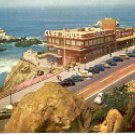 SEAL ROCKS - CLIFF HOUSE RESTAURANT SAN FRANCISCO CALIFORNIA COLOR PICTURE POSTCARD #501 UNUSED