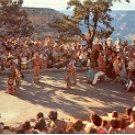 INDIAN DANCES GRAND CANYON NATIONAL PARK ARIZONA COLOR PICTURE POSTCARD #503 UNUSED