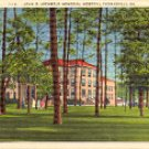 JOHN D. ARCHBOLD MEMORIAL HOSPITAL THOMASVILLE GEORGIA  E-6523 LINEN POSTCARD #509 UNUSED