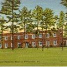M-15 HENRY COUNTY MEMORIAL HOSPITAL MARTINSVILLE VIRGINIA LINEN POSTCARD #510 UNUSED