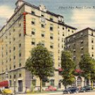 ALBERT PIKE HOTEL LITTLE ROCK ARKANSAS  17096 LINEN POSTCARD #512 UNUSED