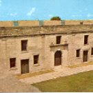 CHAPEL & NORTH WALL CASTILLO DE SAN MARCOS NATL MONUMENT ST. AUGUSTINE FL COLOR POSTCARD #533 UNUSED