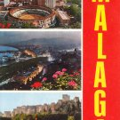 309 - MALAGA COSTA DEL SOL SPAIN COLOR POSTCARD #538 UNUSED