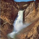 YELLOWSTONE NATIONAL PARK LOWER FALLS WYOMING COLOR POSTCARD #541 UNUSED 1979