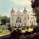 SPRING HILL COLLEGE CHAPEL MOBILE ALABAMA COLOR POSTCARD #545 UNUSED