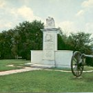 HARRISBURG BATTLE MONUMENT TUPELO MISSISSIPPI COLOR POSTCARD #553 UNUSED NEAR MINT
