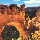 NATURAL BRIDGE BRYCE CANYON NATIONAL PARK UTAH C85 COLOR POSTCARD #583 UNUSED 1978