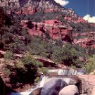 OAK CREEK IN SEDONA ARIZONA COLOR POSTCARD #590 UNUSED