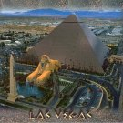 LUXOR LAS VEGAS NEVADA WILLIAM CARR COLLECTION COLOR PICTURE POSTCARD #595 UNUSED