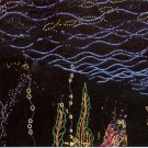 CHRISTMAS LIGHTS THE UNDERWATER GARDEN BELLINGRATH GARDENS MOBILE COLOR PICT POSTCARD #607 UNUSED