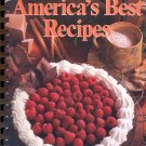 AMERICA'S BEST RECIPES - 1990 HOMETOWN COLLECTION COOKBOOK SPIRAL SOFTCOVER BOOK MINT