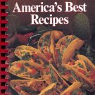 AMERICA'S BEST RECIPES - 1989 HOMETOWN COLLECTION COOKBOOK SPIRAL SOFTCOVER BOOK MINT