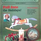 ARTISTS' WORKBOOK CRAFTS BACK ISSUE MAGAZINE: FALL INTO THE HOLIDAYS 1985 NEAR MINT
