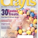 CRAFTS MAGAZINE BACK ISSUE ~ APRIL 2000 - 30 EASTER TREATS BUNNIES & CHICKS NEAR MINT
