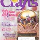 CRAFTS MAGAZINE BACK ISSUE ~ AUGUST 2000 ~ 30 HOME & GARDEN DESIGNS NEAR MINT