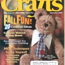 BACK ISSUE CRAFTS MAGAZINE: CRAFTS - FALL FUN 20 CREATIVE IDEAS SEPTEMBER 2000  NEAR MINT